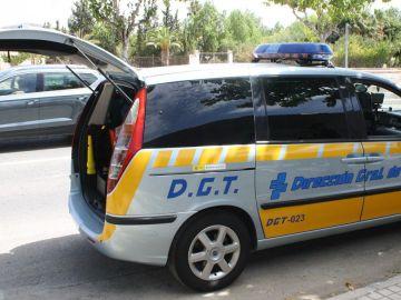 Vehículo provisto de radar cedido por la DGT a la Policía Local de Novelda.
