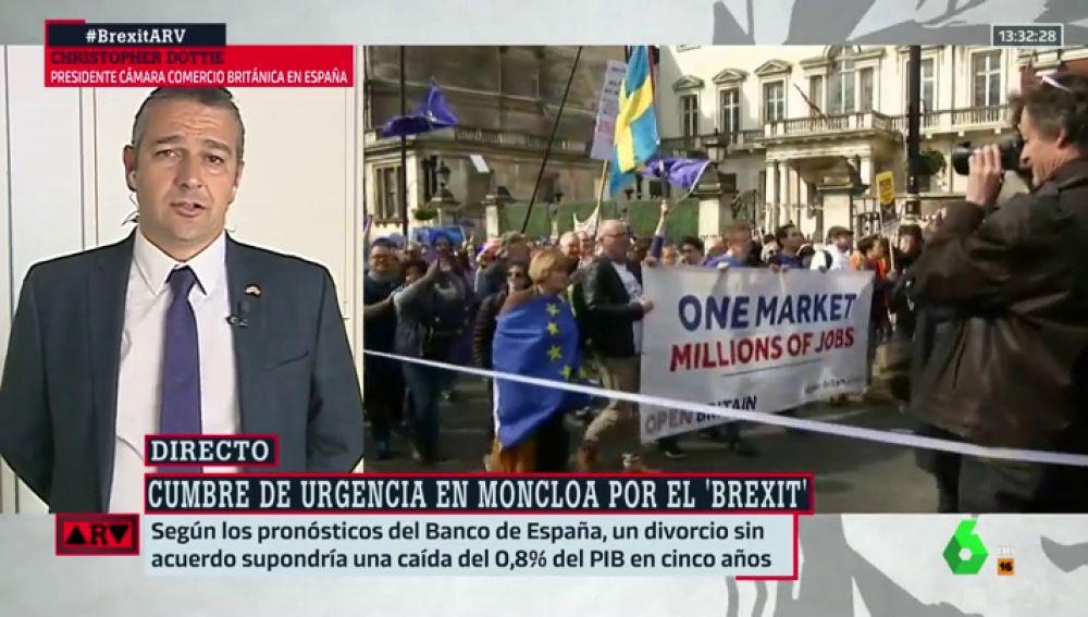 """La Cámara de Comercio Británica alerta sobre el Brexit: """"España sería el segundo país más afectado por una salida sin acuerdo"""""""