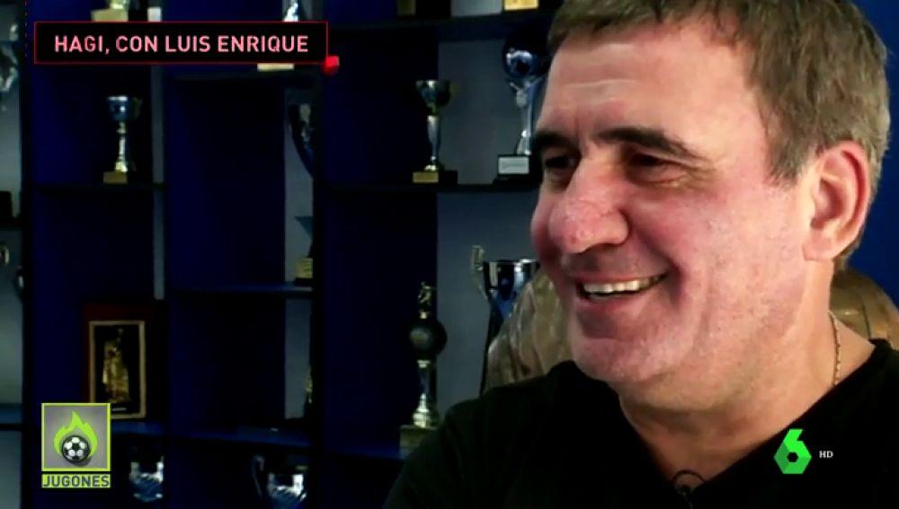 """El emotivo mensaje de Gica Hagi a Luis Enrique tras la muerte de su hija: """" """""""