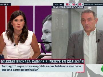 """Enrique Santiago, diputado IU: """"El mandato de la militancia es que trabajemos por un Gobierno de coalición"""""""
