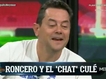 """Tomás Roncero y su experiencia en el grupo de WhatsApp del Barcelona: """"Me mandaban cerditos"""""""
