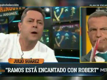"""Tomás Roncero estalla contra Cristóbal Soria: """"¡Tú celebraste el fallo de Joaquín con la Selección!"""""""