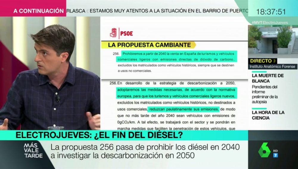 ¿Puede el Gobierno prohibir la venta de coches diésel? Jorge Morales analiza esta propuesta