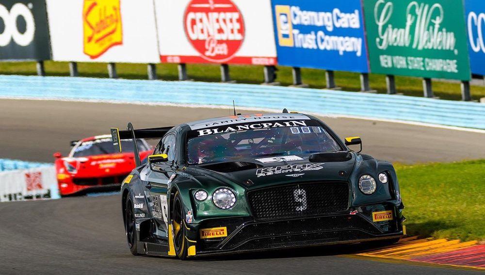 El Bentley de Watkins Gleen en el Blancpain Americas 2019