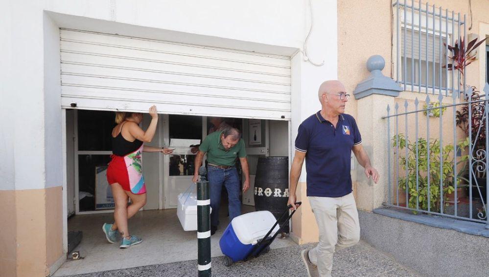 Inspectores salen de la empresa 'Sabores de Paterna'