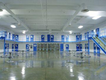 Imagen de las celdas de régimen de aislamiento en la prisión de Red Onion