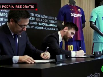Messi puede marcharse gratis cuando quiera