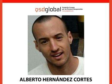 Alberto Hernández Cortés, desaparecido
