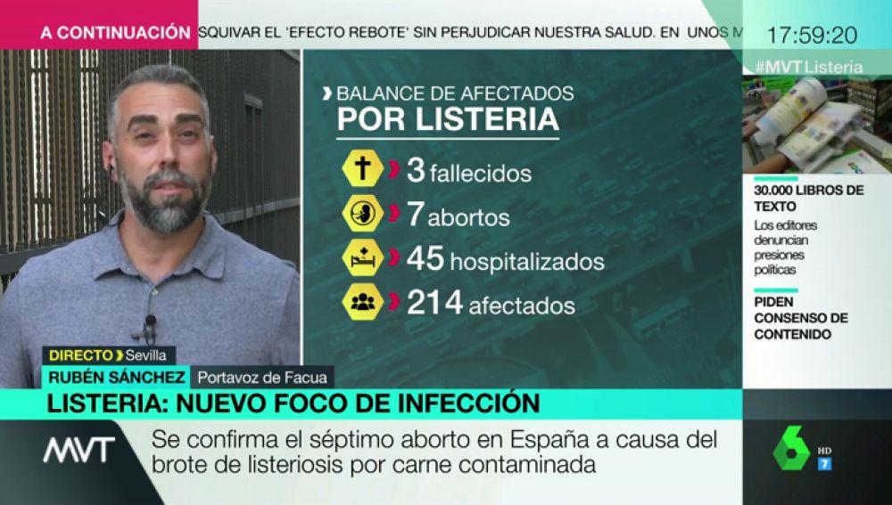 """Rubén Sánchez: """"La Junta de Andalucía ha lanzado mentiras temerarias sobre la listeriosis"""""""