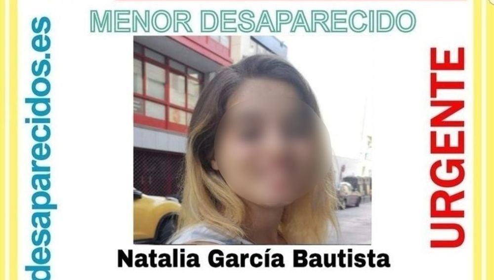 Natalia García Bautista, localizada en buen estado