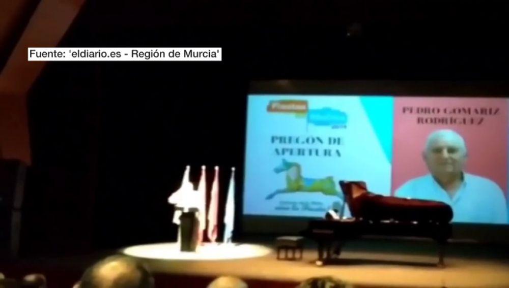 REEMPLAZO   Las fiestas de Molina de Segura, en Murcia, arrancan con un pregón racista y xenófobo
