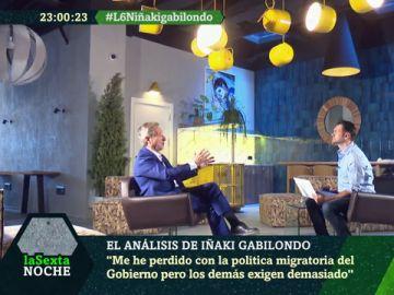 Iñaki Gabilondo con Iñaki López