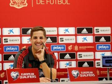 El seleccionador español Robert Moreno