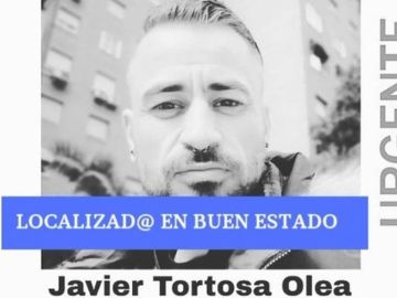 Javier Tortosa, desaparecido en Alcalá de Henares