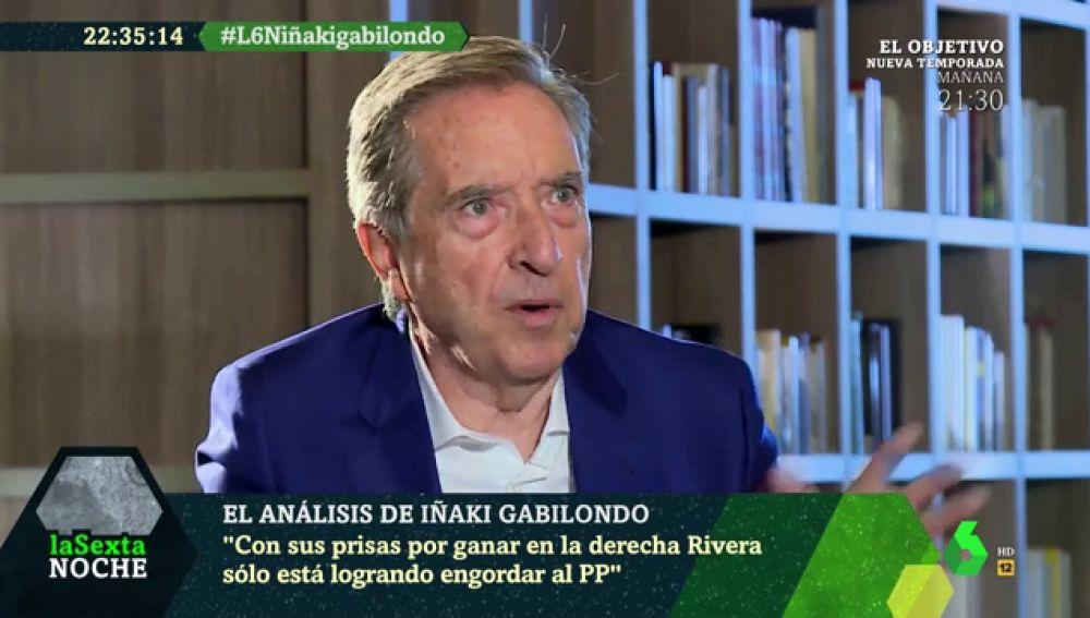 Iñaki Gabilondo en laSexta Noche