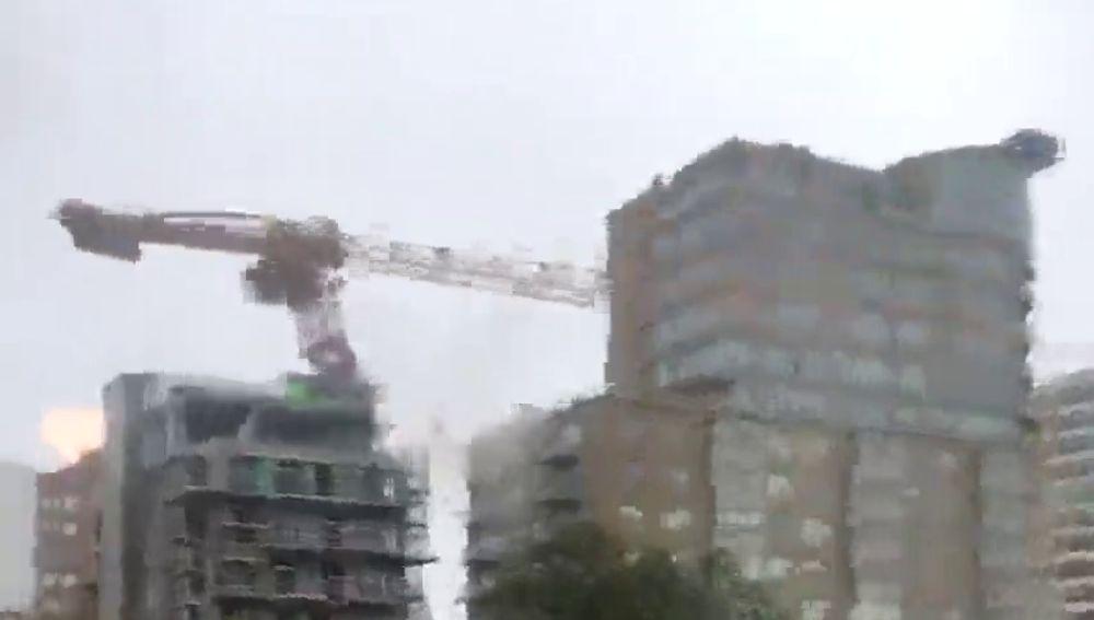 Destrozos del huracán Dorian en Canadá