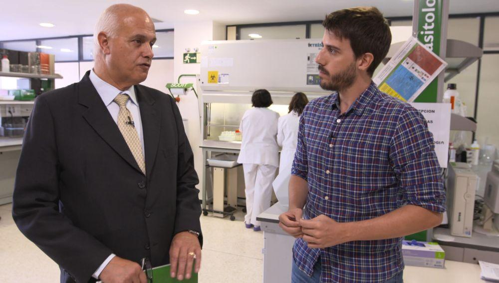 Santiago Maplica, subdirector de Seguridad Alimentaria y Ambiental de Extremadura