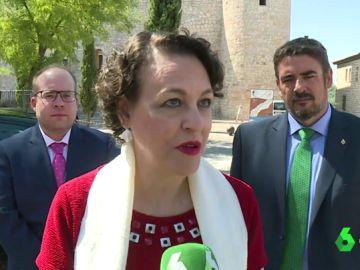 Magdalena Valerio, ministra de Trabajo en funciones