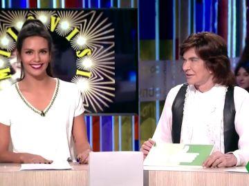 El día en el que Camilo Sesto y Cristina Pedroche jugaron al 'Camilovisión' en Zapeando