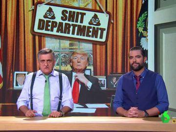 """'Shit Department', las pruebas irrefutables de que existe un departamento exclusivo para """"tapar las cagadas de Trump"""""""