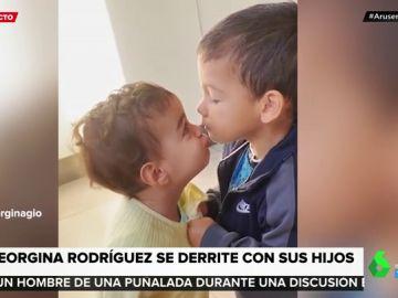Georgina Rodríguez comparte un tierno vídeo de sus hijos