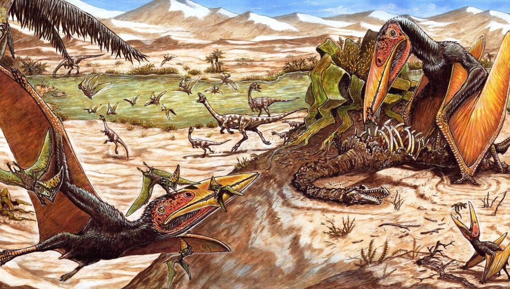 El espiritu de la muerte una nueva especie de pterosaurio de Brasil