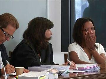 Las lágrimas de Ana Julia Quezada en el inicio del juicio por el crimen de Gabriel Cruz