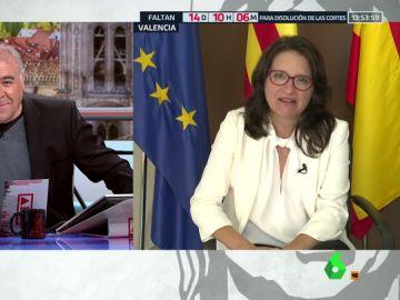 """Mónica Oltra: """"¿Queremos tener un Salvini en España? No podemos dar la oportunidad a las derechas"""""""