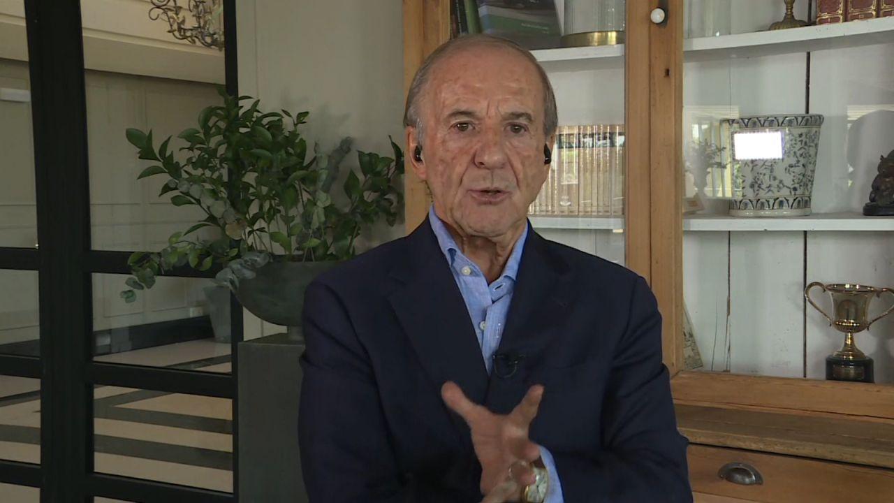 El periodista José María García