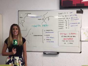 ¿Por qué el huracán Dorian es clave en la peligrosa gota fría que llega a España?