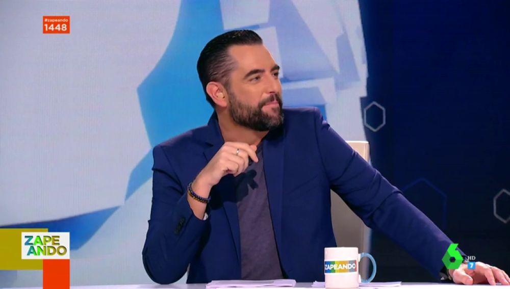 """Dani Mateo estalla en Zapeando tras recibir las críticas de sus compañeros: """"Sois una manada de hienas"""""""