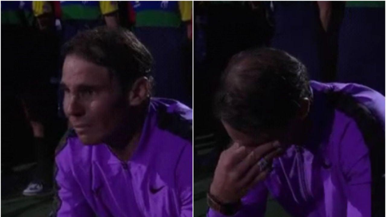 La emoción de Nadal tras ganar su cuarto US Open