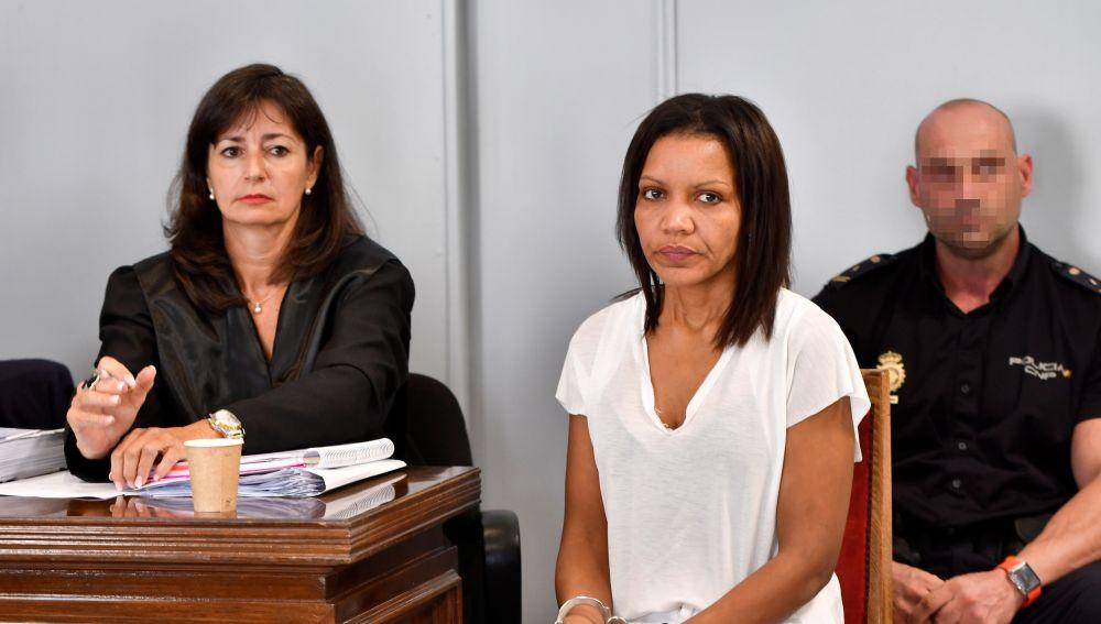 Ana Julia Quezada en el juicio