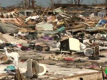 El devastador efecto de Dorian en las Bahamas, una semana después
