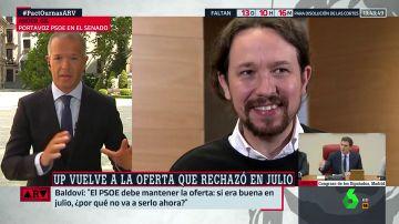 """Ander Gil (PSOE): """"Fuimos sinceros cuando dijimos que la oferta de julio no se repetiría"""""""