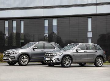 Mercedes GLE y GLC