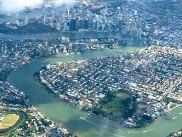 Vista aérea de Brisbane