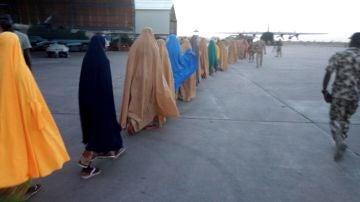 Miles de niños han sido retenidos por el Ejército nigeriano