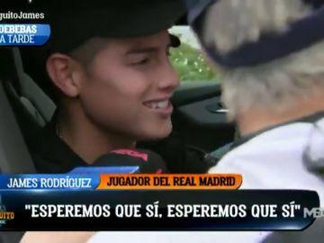 """James Rodríguez: """"Esperemos que sea mi año, estoy más ilusionado que nunca"""""""