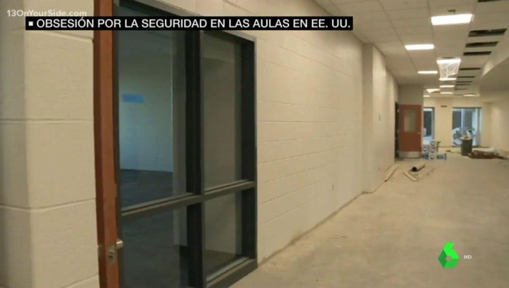 Con sistema de bloqueo para aislar diferentes zonas y pasillos curvos: así es el primer 'instituto antitiroteos' de Estados Unidos