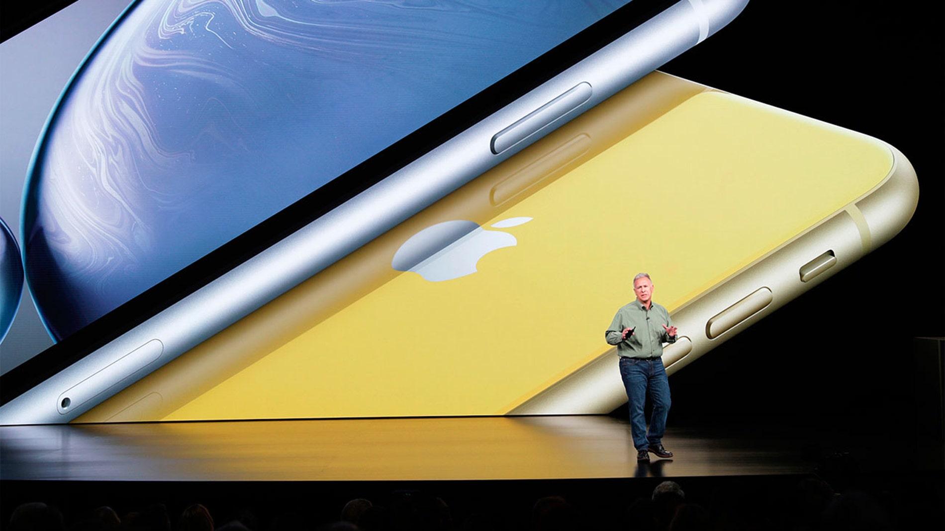 Keynote del iPhone XR en septiembre de 2018