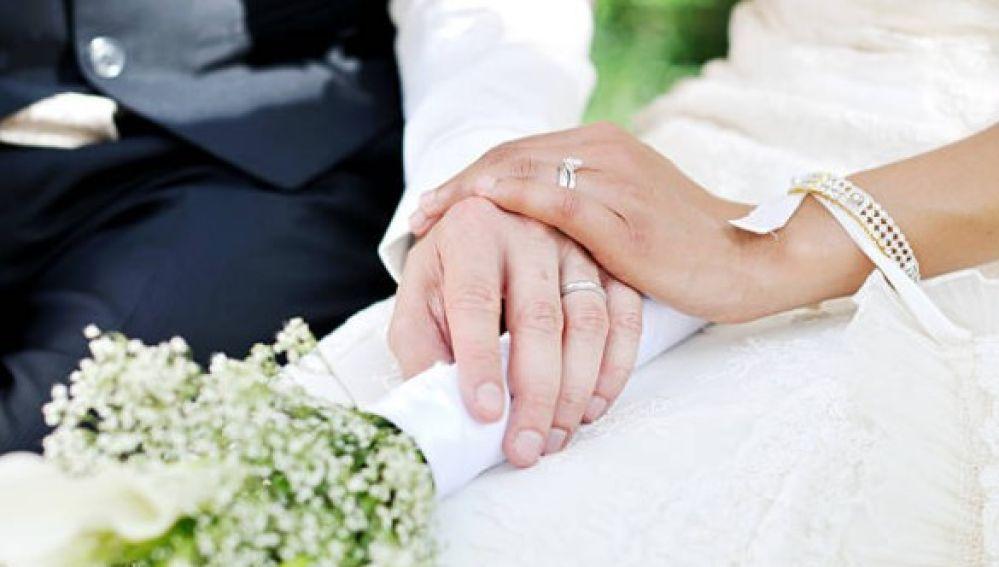 Imagen de archivo de una boda