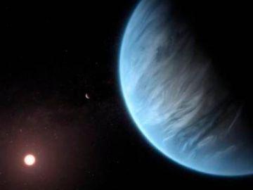 Encuentran por primera vez agua en un planeta potencialmente habitable