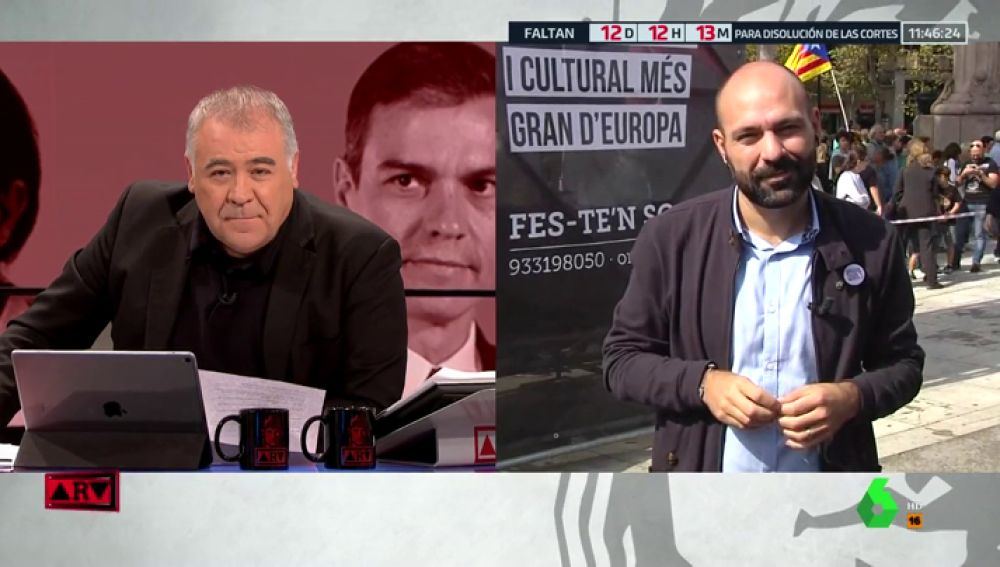 """Mauri (Òmnium): """"El Estado tendrá un problema grave de democracia y libertades si se condena a los presos"""""""