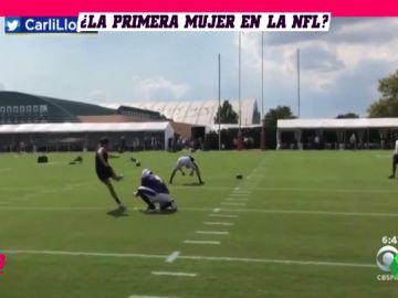 Carli Lloyd, ¿primera mujer en jugar en la NFL?: clamor por su fichaje