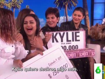 Kylie Jenner regala 750.000 dólares a una ONG que ayuda a empoderar a las mujeres