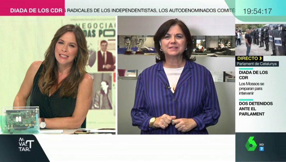 """Lucía Méndez: """"Pablo Iglesias se siente humillado por Pedro Sánchez y Sánchez se cree que Iglesias le desprecia intelectualmente"""""""