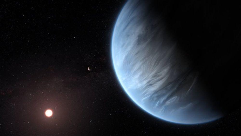 El exoplaneta K2-18b