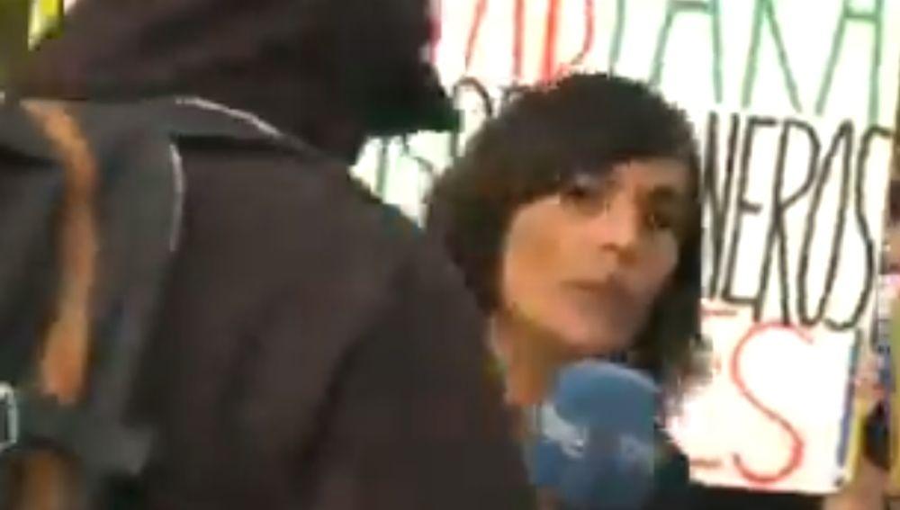 La periodista de TVE Angela García Romero