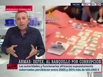"""""""Una mamonoplastia a cambio de un contrato de armas"""": las claves de la trama Defex"""